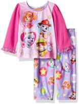 Nickelodeon Girls' Paw Patrol 2-Piece Pajama Set