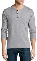 Rag & Bone Standard Issue Basic Long-Sleeve Henley Shirt