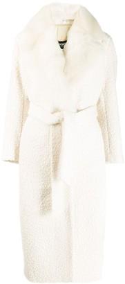 Simonetta Ravizza Shearling Lined Coat