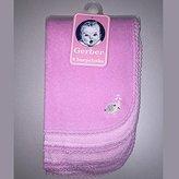 Gerber Girls 6 Pack Pink Terry Burpcloths by