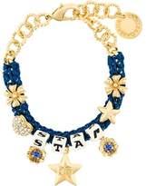 Dolce & Gabbana star dice charm bracelet