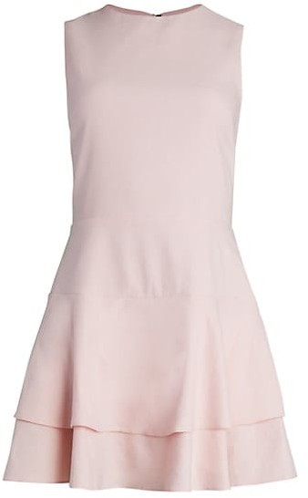 Alice + Olivia Palmira Fit & Flare Dress