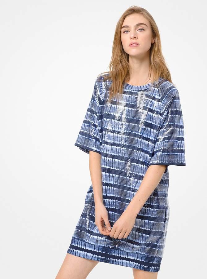 cdbe93f2a2e Sequin T Shirt Dress - ShopStyle