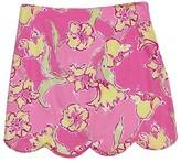 Lilly Pulitzer Pink Print Mini Skirt