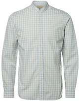 Selected Homme Jacque Long Sleeve Check Shirt, Forever Blue/white