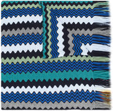 Missoni zigzag knit scarf - women - Acrylic/Wool - One Size