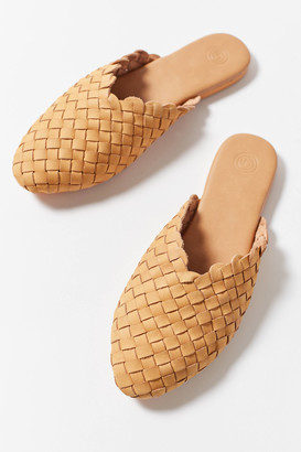 Urban Outfitters Woven Leather Mule