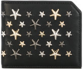 Jimmy Choo Albany studded wallet - men - Calf Leather/metal - One Size