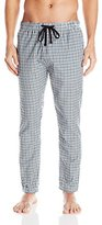 Bottoms Out Men's Checked Woven Lounge Pant