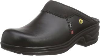 Sanita San Pro Light OB Certified ESD Safety Work Clog | Original Handmade | Comfortable Leather Mule Clog Size: 12 UK