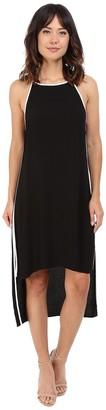 LAmade Women's Ika Crepe Color Trim Dress