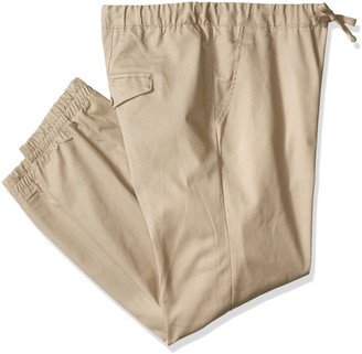 Akademiks Men's Big and Tall Solid Twill Jogger Pant