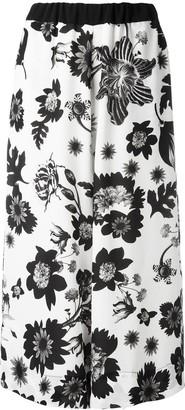 Antonio Marras Floral Print Culotte Trousers