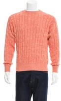 Loro Piana Cable-Knit Crew Neck Sweater w/ Tags