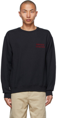 Wacko Maria Black Type-1 Sweatshirt
