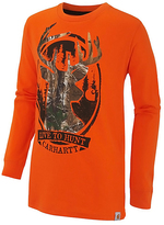 Carhartt Orange & Realtree Xtra® Camo 'Live to Hunt' Tee - Boys