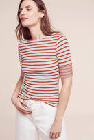 Three Dots Etoile Striped Top
