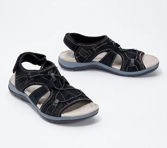 Earth Origins Suede Sport Sandals - Savoy Siena
