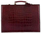Fred of Paris Crocodile Briefcase