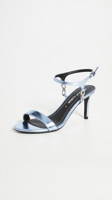Stella Luna Crystal Chain Sandals