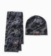 UGG Toddler Boys' Camo Beanie and Scarf Boxed Set