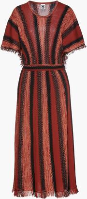 M Missoni Frayed Wool-blend Kaftan
