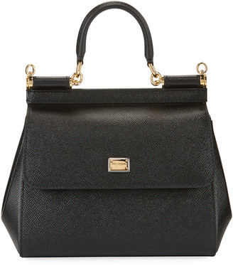 Dolce & Gabbana Sicily Small St. Dauphine Shoulder Bag