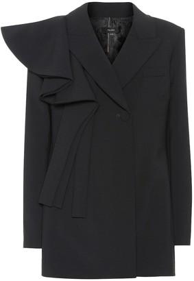 Ellery Schoolyard ruffle-trimmed blazer