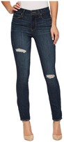 Paige Hoxton Ankle in Cleary Destructed Women's Jeans