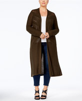 Style&Co. Style & Co Plus Size Open-Front Duster Cardigan, Created for Macy's