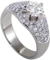 Estate Platinum with 2.03ct Diamond Ring Size 9