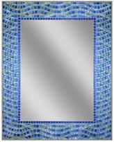 Deco Mirror 24 in. x 30 in. Frameless Single Blue Ocean Mirror