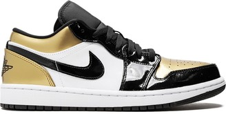 Jordan Air 1 Low gold toe