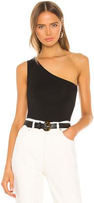 Enza Costa One Shoulder Bodysuit
