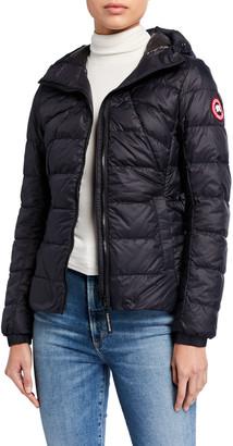 Canada Goose PBI Abbott Zip-Up Puffer Hoodie Jacket