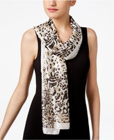 Vince Camuto Animal Stripe Oblong Scarf
