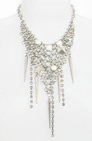 Cara Grommet & Crystal Bib Necklace
