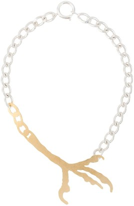 Wouters & Hendrix Talon Charm Necklace