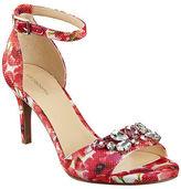 Liz Claiborne Heidy Jeweled Heeled Sandals
