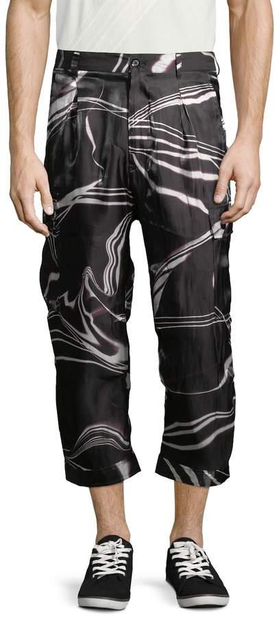 Y-3 Men's Light Cotton Cargo Pants