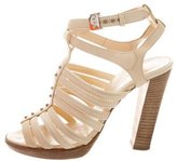 Hermes Leather Multistrap Sandals