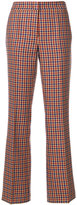 Odeeh dogtooth tailored trousers