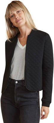 Marine Layer Mya Quilted Swing Bomber Jacket - Women's