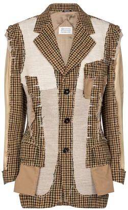 Maison Margiela Deconstructed wool blazer
