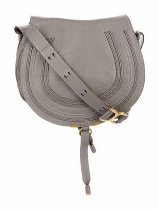 Chloé Medium Marcie Crossbody Bag Grey
