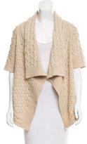 Calypso Wool-Blend Asymmetrical Cardigan