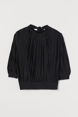 H&M Pleated top