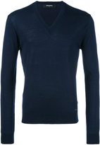 DSQUARED2 V-neck jumper - men - Wool - XL