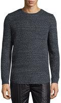 Helmut Lang Melange Long-Sleeve T-Shirt, Dark Gray