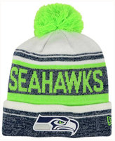 New Era Seattle Seahawks Snow Dayz Knit Hat, A Macy's Exclusive Style